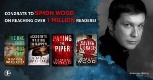 Simon has now sold over a million copies with his publisher Thomas & Mercer.