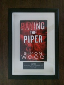 PAYING THE PIPER joins 100,000 copies club!