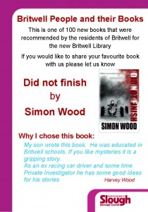 Simon recognized by his hometown library.