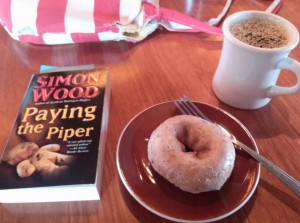 PAYING THE PIPER, a donut, and a coffee--the perfect meal? From Mary A.