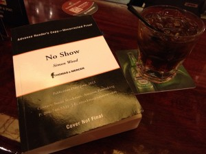 NO SHOW is better enjoyed with a stiff drink...apparently.