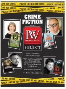 Simon made the cover of Publishers Weekly.